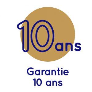 logo de la garantie 10 ans des matelas Cosmos® Bedding