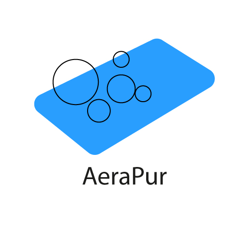 logo mousse haute résilience aérée Aerapur®