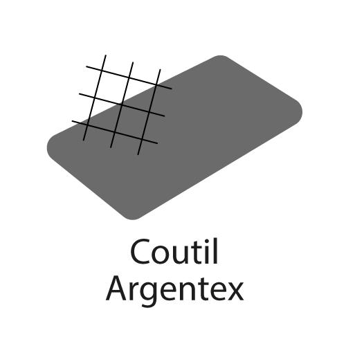 logo coutil Argentex® aux fils d'argent