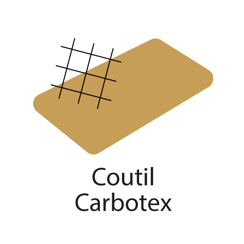 logo du coutil Carbotex® aux fils de carbone