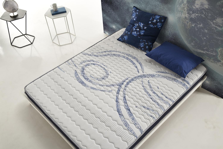 vue de dessus du matelas activex en mousse haute r silience cosmosbedding. Black Bedroom Furniture Sets. Home Design Ideas
