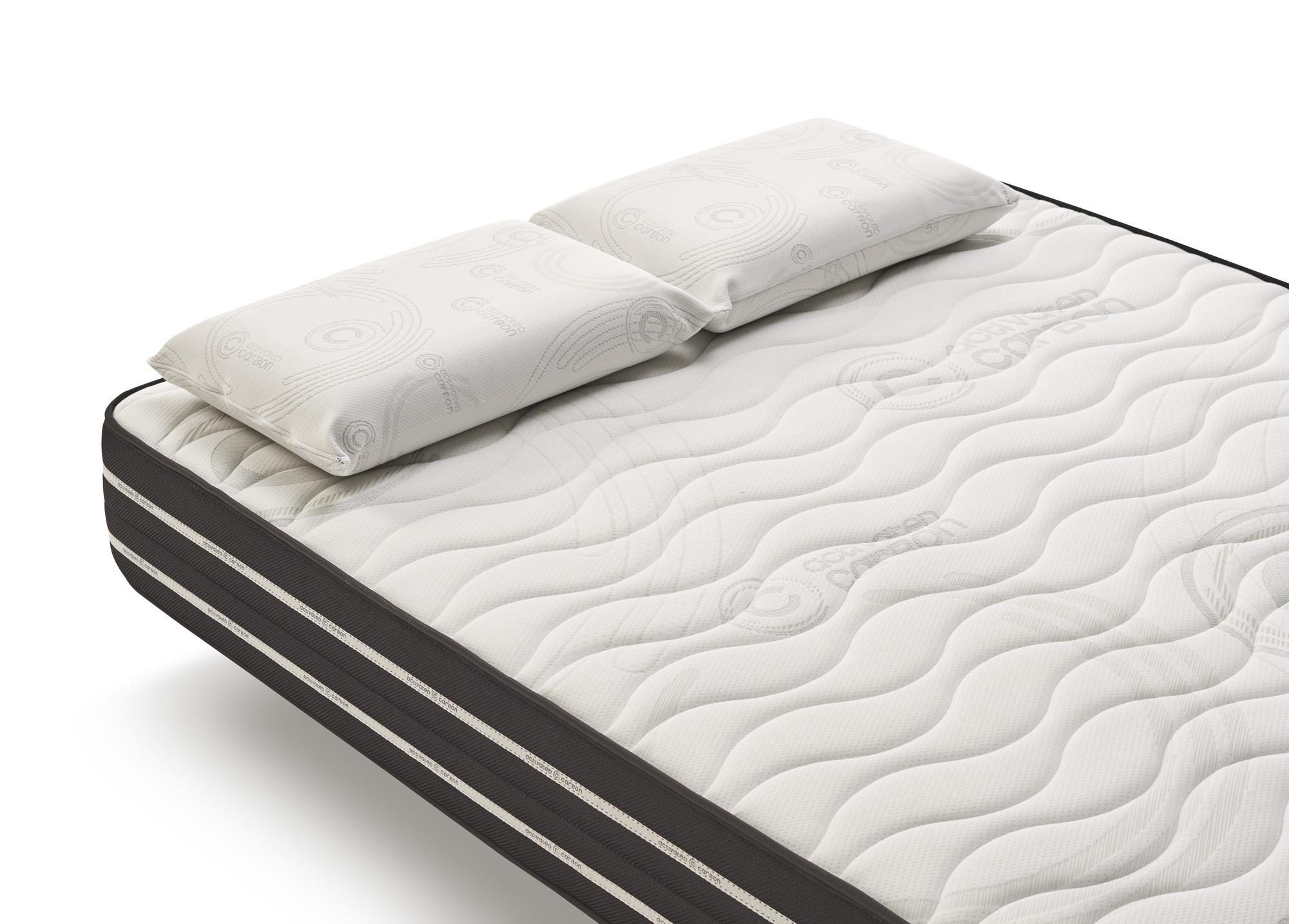 matelas activated carbon cosmos aux particules de carbone. Black Bedroom Furniture Sets. Home Design Ideas