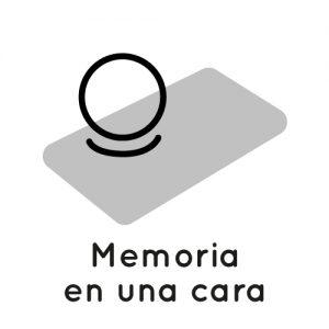 icono memoria 1 cara