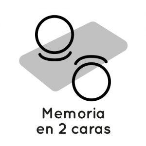 icono memoria 2 caras